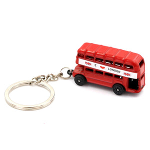 DOUBLE DECKER KEYRING | RED BUS | GENTS CLOBBER