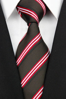 STRIPED SILK TIE | TIE COLLECTION | GENTS CLOBBER