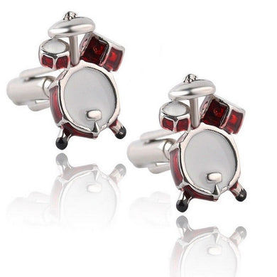 DRUMS CUFFLINKS | DRUM KIT | GENTS CLOBBER
