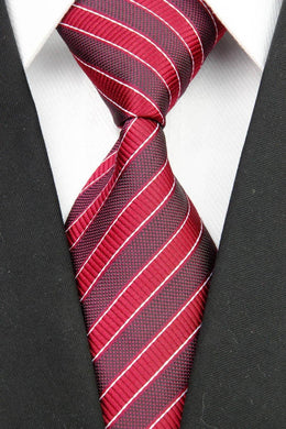 RED TIE | STRIPE | GENTS CLOBBER