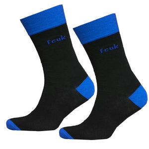 French Connection Mens Tipped Socks