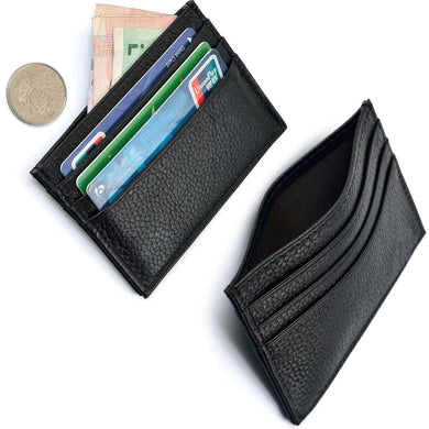 CREDIT CARD HOLDER | BLACK | GENTS CLOBBER