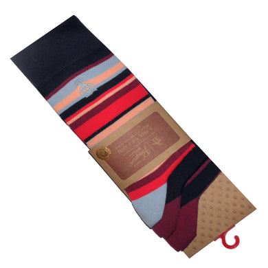ORIGINAL PENGUIN SOCKS | STRIPE | GENTS CLOBBER