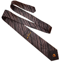Load image into Gallery viewer, BEN SHERMAN TIE | BROWN STRIPED | GENTS CLOBBER