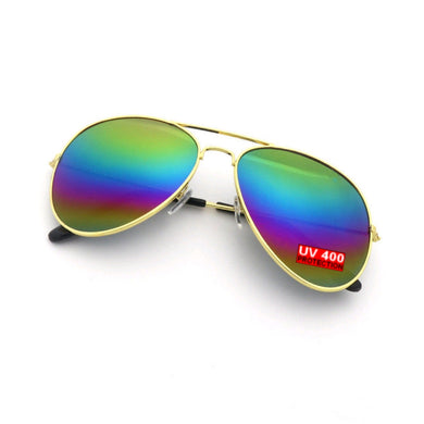 RAINBOW AVIATOR SUNGLASSES | GENTS CLOBBER