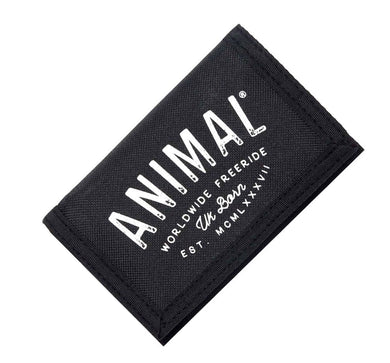 ANIMAL AMBUSH WALLET | BLACK WALLET | GENTS CLOBBER