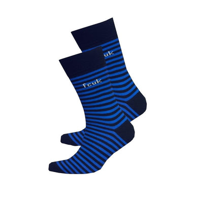 French Connection Mens Striped Socks