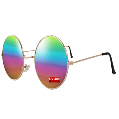 RAINBOW ROUND SUNGLASSES | GENTS CLOBBER