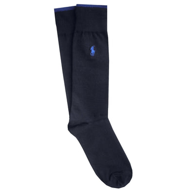 RALPH LAUREN SOCKS | NAVY BLUE | TIPPED | GENTS CLOBBER