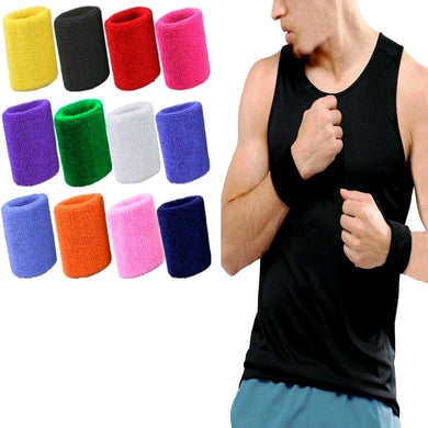 SPORTS WRISTBAND FOR MEN | COLOURFUL SWEATBANDS | GENTS CLOBBER