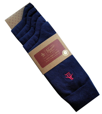 Original Penguin Pack Plain Socks | Free UK Shipping | Gents Clobber