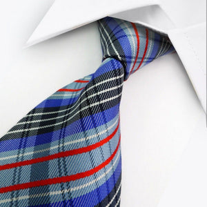 BLUE MULTISTRIPED TIE | STRIPED TIE | GENTS CLOBBER