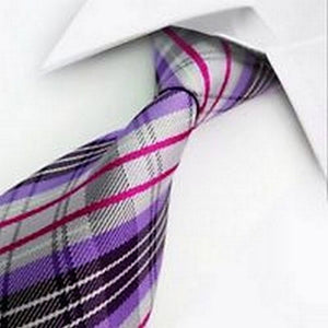 PURPLE MULTISTRIPED TIE | STRIPED TIES | GENTS CLOBBER