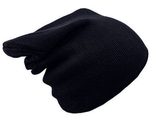 BLACK BEANIE HAT | GENTS CLOBBER