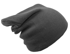 DARK GREY BEANIE HAT | GENTS CLOBBER