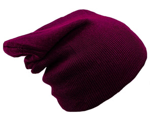 DARK PURPLE BEANIE HAT | GENTS CLOBBER