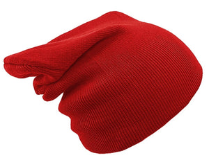 DARK RED BEANIE HAT | GENTS CLOBBER