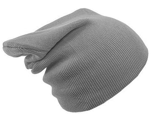 GREY BEANIE HAT | GENTS CLOBBER