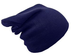 NAVY BLUE BEANIE HAT | GENTS CLOBBER