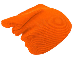 ORANGE BEANIE HAT | GENTS CLOBBER