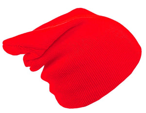 RED BEANIE HAT | GENTS CLOBBER