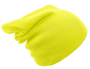 YELLOW BEANIE HAT | GENTS CLOBBER