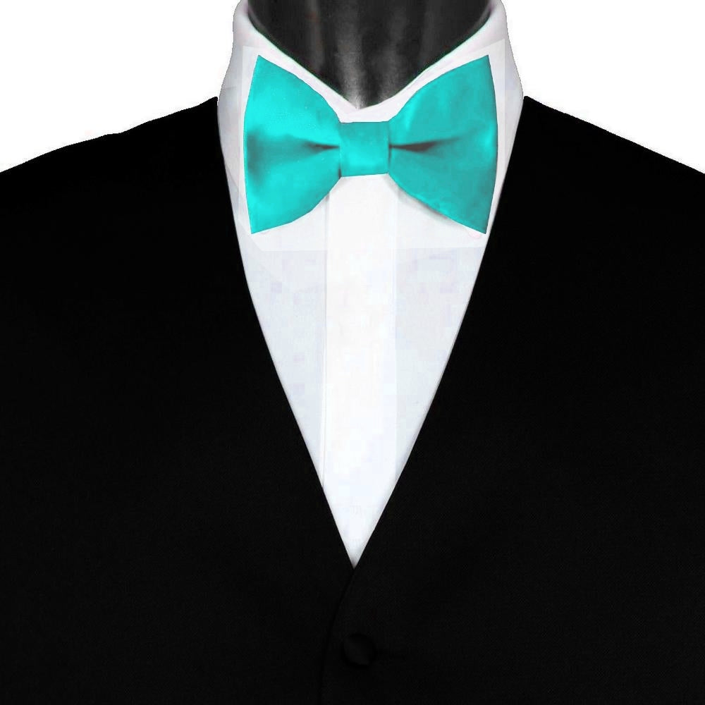 SOLID BOW TIE | SKY BLUE | GENTS CLOBBER