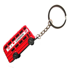 Load image into Gallery viewer, BUS KEYRING | LONDON | DOUBLE DECKER | GENTS CLOBBER