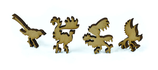 Wooden Jigsaw Puzzle Gorgeous Bird