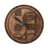 "12"" Acoustic Electric Guitars wall clock"
