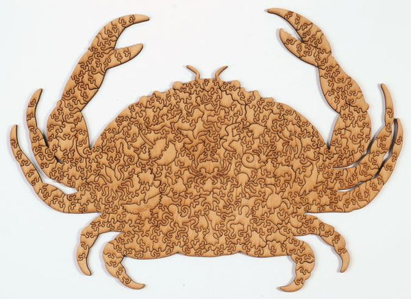 Wooden Jigsaw Puzzle Crab