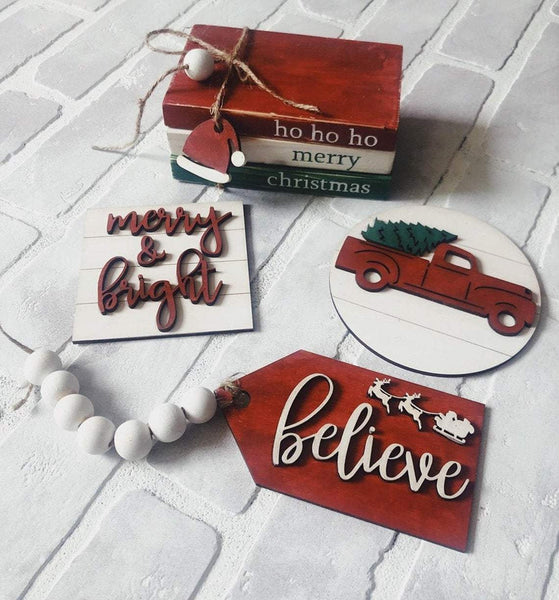 Christmas in July Signs DIY Kit