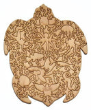 Wooden Jigsaw Puzzle Sea Turtle