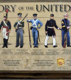 History of the United States Marine Wood Sign