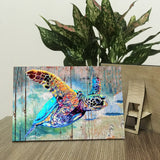 Sea Turtle Wood Prints
