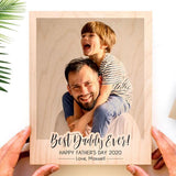 Personalized Father Day Gift Best Dad Ever Gift