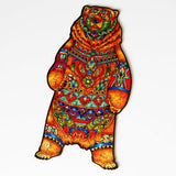 Wooden Jigsaw Puzzle  Charming Bear