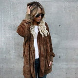 Autumn And Winter Lamb Wool Warm Jacket