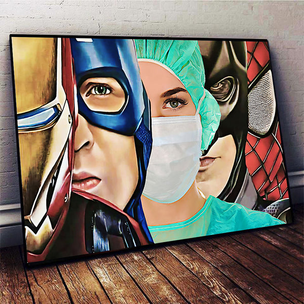 Nurse Limited Horizontal Canvas Poster