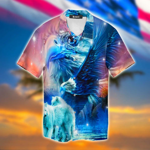 Wolf Eagle Hawaii Shirt