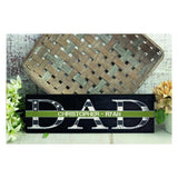 Personalized Fathers Day Sign Gift