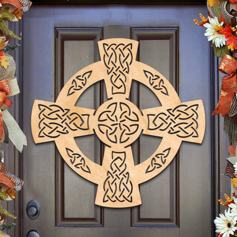 Cross - Celtic Wheel