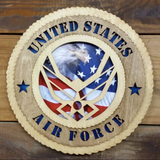 Wooden Sign - US Air Force