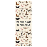 """Eat more plants, do more Yoga"" Yoga Mats"