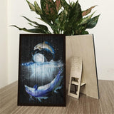 Dolphin Wood Prints