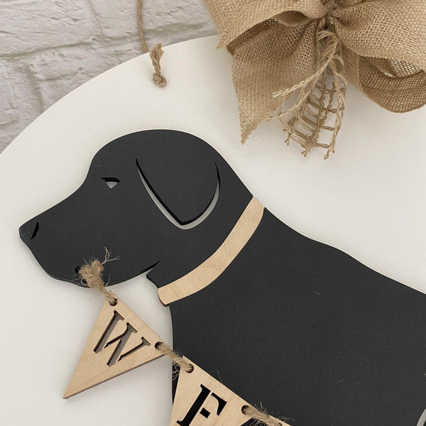 Welcome Dog Door Hanger