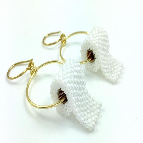 Funny Earrings Hoops Toilet Paper FUN tradition Auburn GOLD Tone
