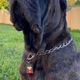 Custom Soldierdog, Stainless Steel Pet ID Tag