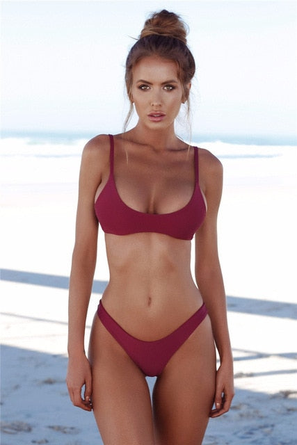 ECCP 2018 New Sexy Bikinis Women Swimsuit Summer Beach Wear Push Up Sw - mystore9560