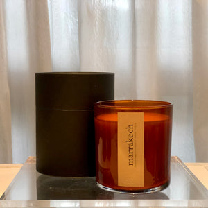 marrakech scented luxury soy candle